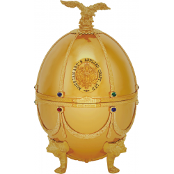 Faberge Egg Vodka Onyx Yellow Collection