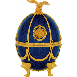 Faberge Egg Vodka Saphire Collection