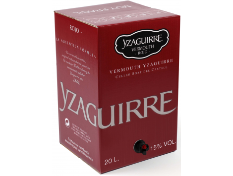 Bag in Box Vermouth Yzaguirre 20 litros