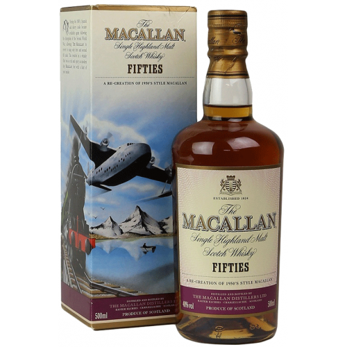 Macallan Travel Series Fifties 50 cl.