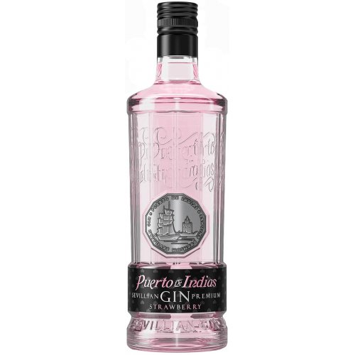 Puerto de Indias Gin Premium Strawberry