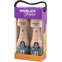 Mini Black Miami Brut Pack 2 bot.