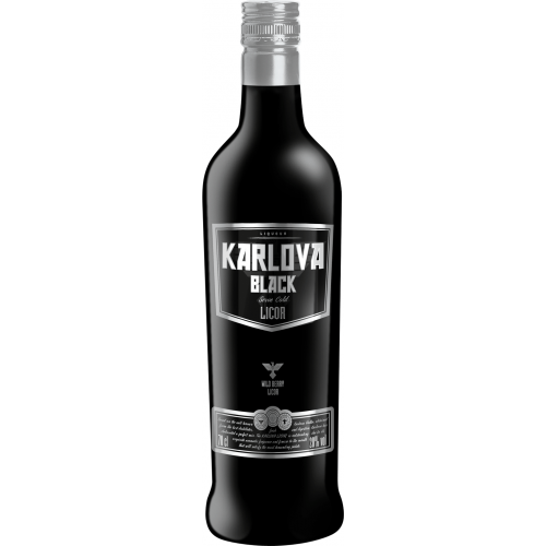 Vodka Karlova Black